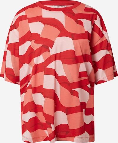 TOMMY HILFIGER T-shirt en corail / rose pastel / rouge, Vue avec produit