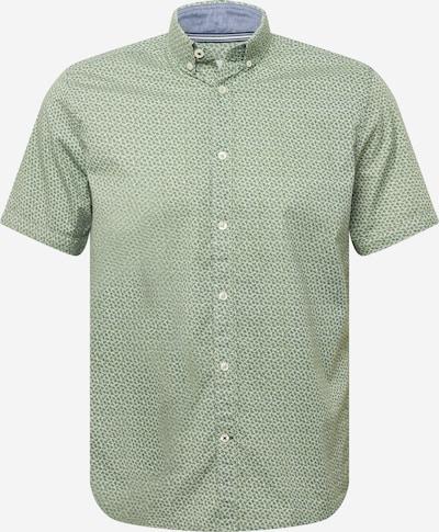 TOM TAILOR Košeľa - modrosivá / svetlozelená / biela, Produkt