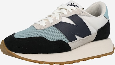 new balance Platform trainers in Navy / Mint / Black / White, Item view