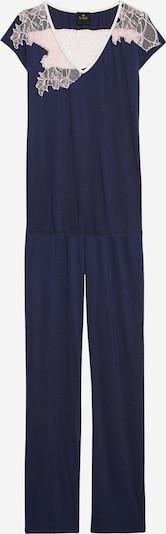 Le Chat Pyjama 'Cipriani' in beige / navy, Produktansicht