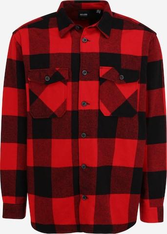 Only & Sons Big & Tall Paita 'MILO' värissä punainen