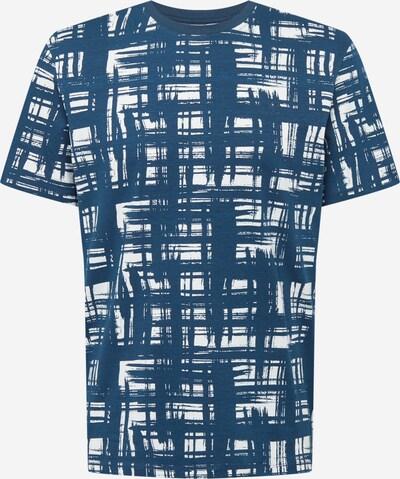 Casual Friday Shirt 'Thor' in de kleur Blauw / Wit, Productweergave