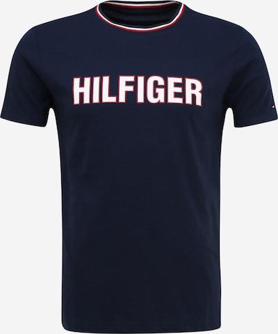 Tommy Hilfiger Underwear Shirt in dunkelblau / hellrot / weiß, Produktansicht