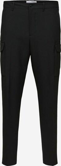 SELECTED HOMME Cargobroek in de kleur Zwart: Vooraanzicht