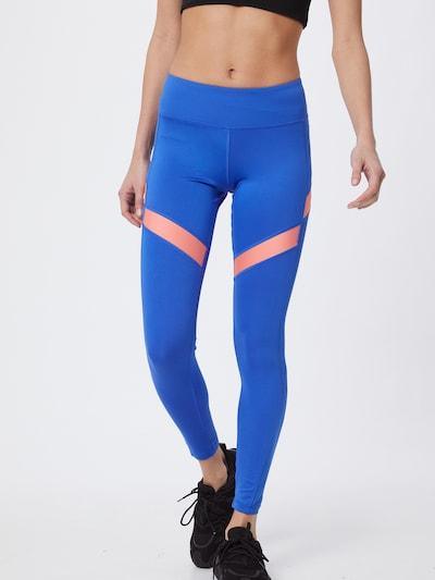 REEBOK Sportovní kalhoty 'WOR Mesh Tight' - modrá, Model/ka