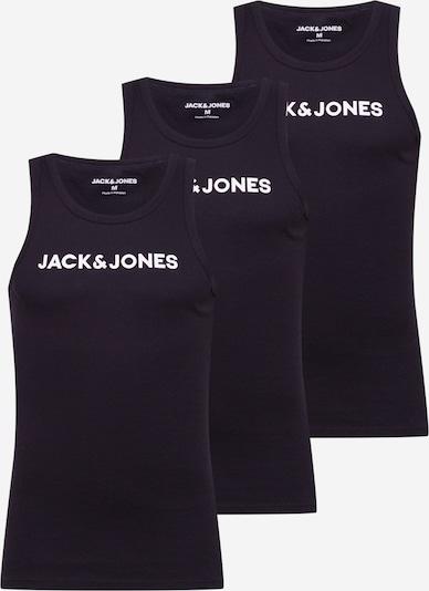JACK & JONES T-shirt i svart / vit, Produktvy