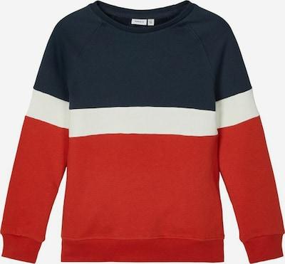 Felpa NAME IT di colore blu / rosso / bianco, Visualizzazione prodotti