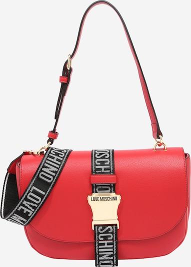 Love Moschino Τσάντα ώμου σε κόκκινο / μαύρο / λευκό, Άποψη προϊόντος