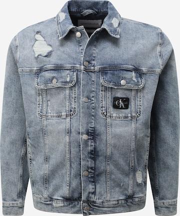Calvin Klein Jeans Plus Jacke in Blau