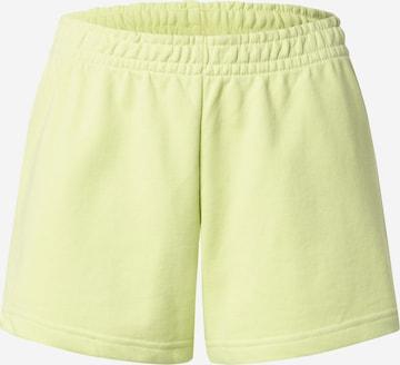 Pantalon WEEKDAY en vert
