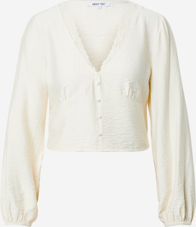 ABOUT YOU Damen - Blusen & Tuniken 'Mette Blouse' in creme, Produktansicht