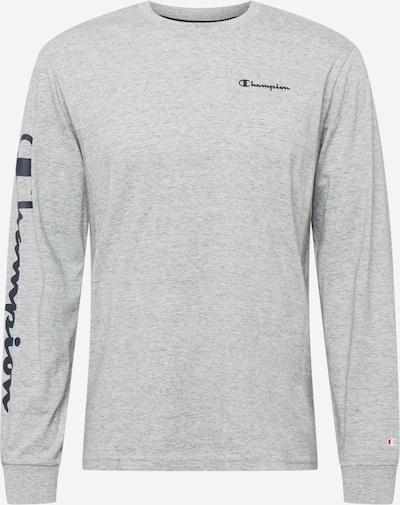 Champion Authentic Athletic Apparel T-Shirt en bleu nuit / gris chiné, Vue avec produit