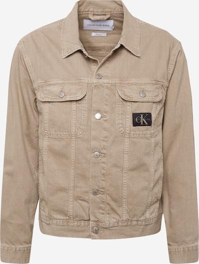 Calvin Klein Jeans Jacke in hellbraun, Produktansicht