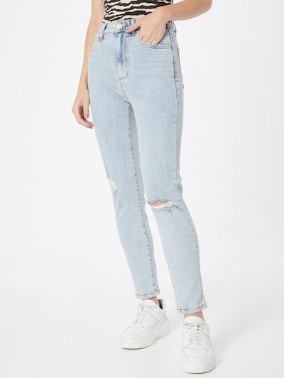 Jeans Cotton On pe albastru denim, Vizualizare model
