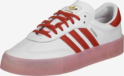ADIDAS ORIGINALS Sneakers laag 'Sambarose' in de kleur Goud / Rood / Wit, Productweergave