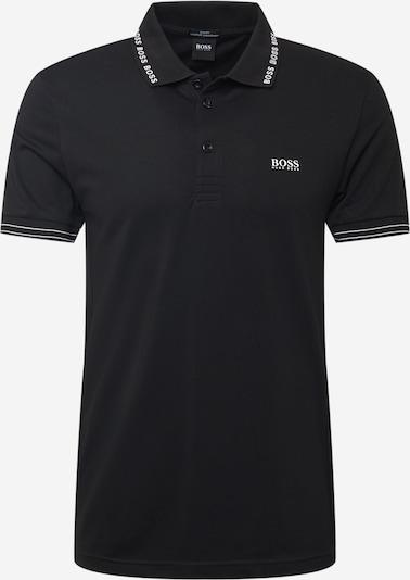 BOSS ATHLEISURE Tričko 'Paule' - čierna / biela, Produkt