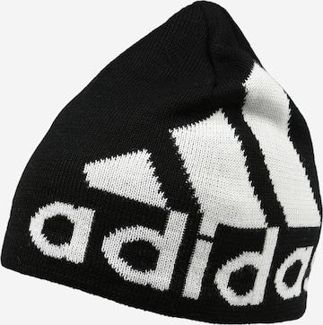 melns ADIDAS PERFORMANCE Sporta cepure