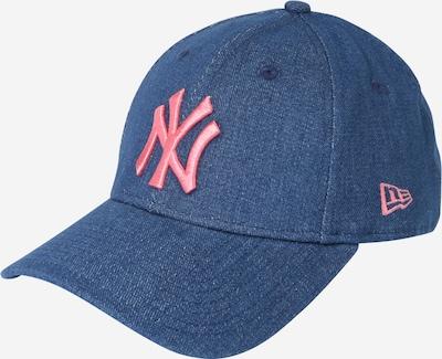NEW ERA Cap in dunkelblau / hellpink, Produktansicht