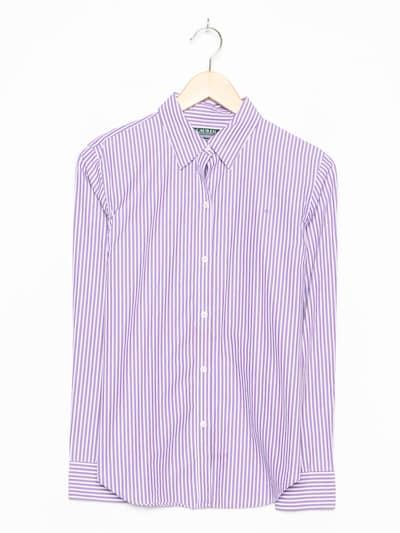 RALPH LAUREN Hemd in L in lila, Produktansicht