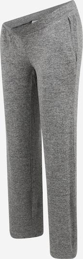 MAMALICIOUS Pantalon en gris chiné, Vue avec produit
