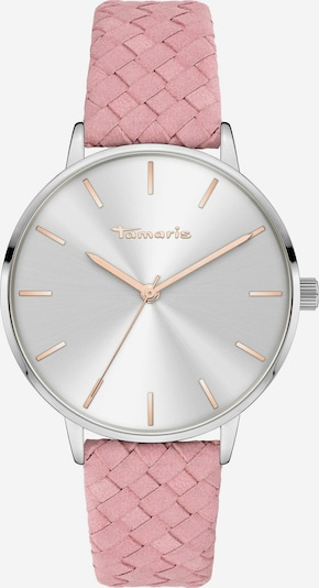 TAMARIS Uhr in rosa / silber, Produktansicht