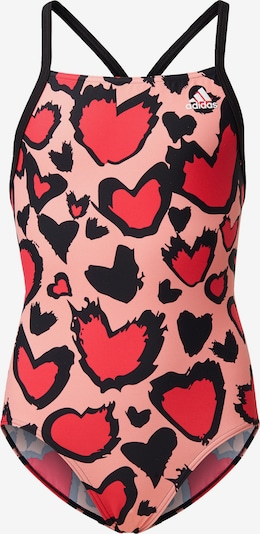ADIDAS PERFORMANCE Badeanzug in pink: Frontalansicht