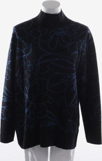 AKRIS Pullover  in L in blau / schwarz, Produktansicht
