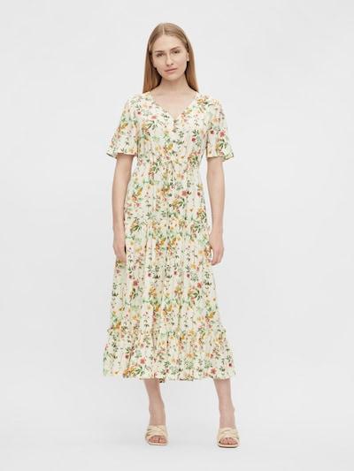 Rochie tip bluză OBJECT pe crem / mai multe culori, Vizualizare model