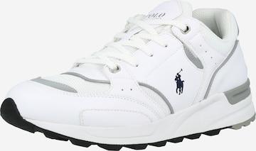 Sneaker bassa 'TRACKSTR 200' di Polo Ralph Lauren in bianco