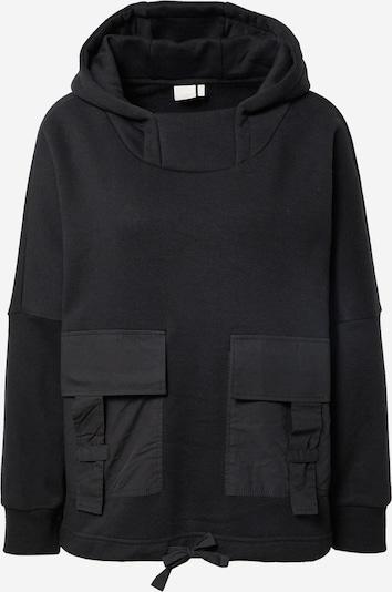 Bluză de molton 'ALETI' NÜMPH pe negru, Vizualizare produs