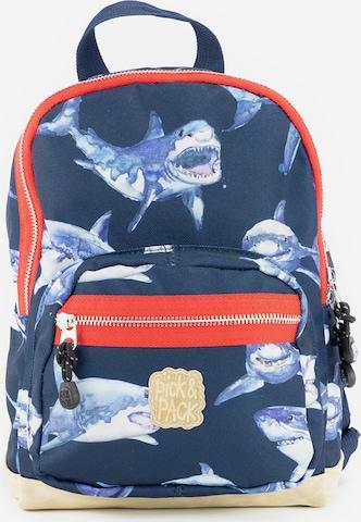 Sac à dos 'Shark S' Pick & Pack en bleu