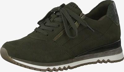 Sneaker low MARCO TOZZI pe verde închis, Vizualizare produs
