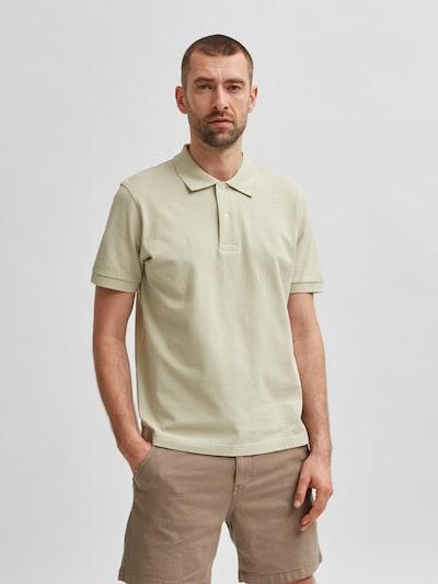 SELECTED HOMME T-Krekls 'Neo', krāsa - pasteļzaļš: Priekšējais skats