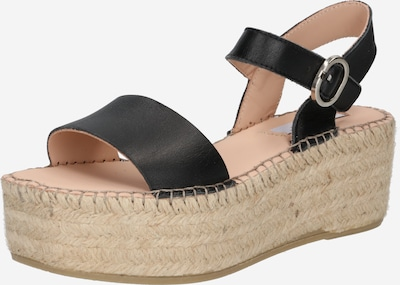 Sandale cu baretă 'JOELA' Steven New York pe negru, Vizualizare produs