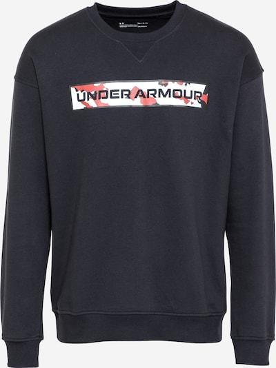 UNDER ARMOUR Sportovní mikina - červená / černá / bílá, Produkt