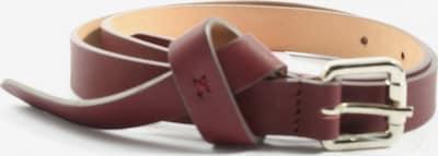 Lawrence Grey Ledergürtel in XS-XL in rot, Produktansicht