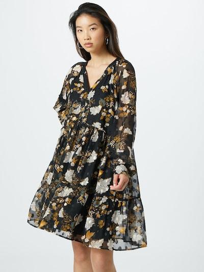 VILA Kleid 'Lulu' in mischfarben / schwarz, Modelansicht