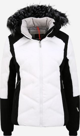 ICEPEAK Skijacke 'ELSAH' in schwarz / weiß, Produktansicht