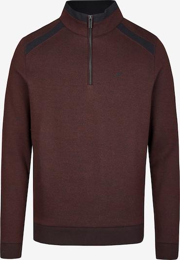 DANIEL HECHTER Sweatshirt in dunkelrot, Produktansicht