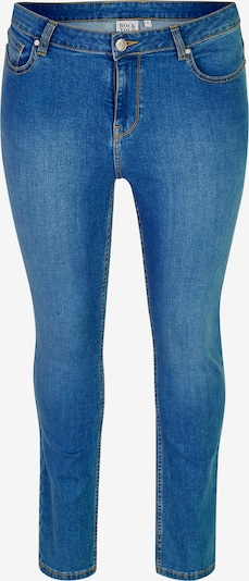 Rock Your Curves by Angelina K. Jeans in blue denim, Produktansicht