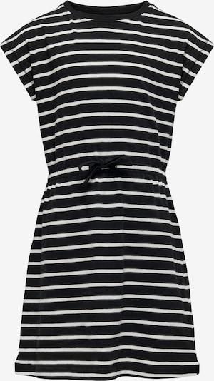KIDS ONLY Kleid 'May' in schwarz / weiß, Produktansicht