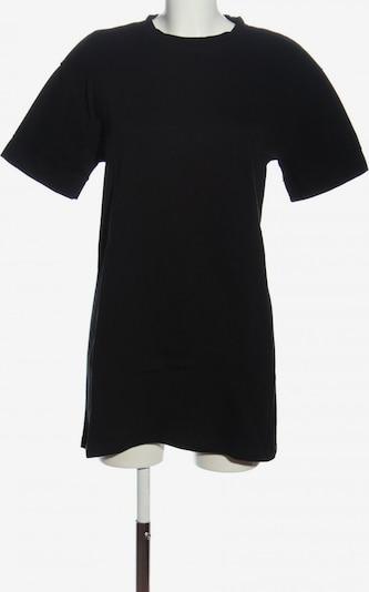 ZARA Longshirt in S in schwarz, Produktansicht
