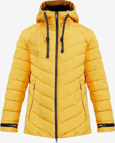 Finn Flare Daunenjacke in gelb, Produktansicht