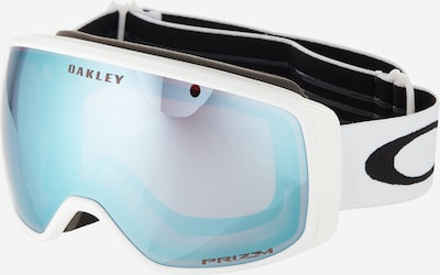 OAKLEY Sportbril 'Flight Tracker M' in de kleur Saffier / Wit, Productweergave