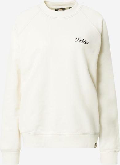 DICKIES Sweatshirt 'Halma' in Ecru / Black, Item view