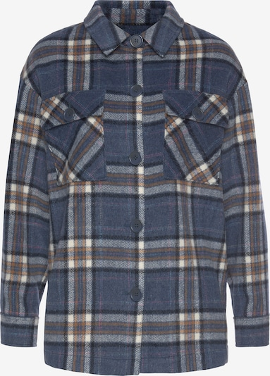 TAMARIS Between-Season Jacket in Blue / Brown / White, Item view