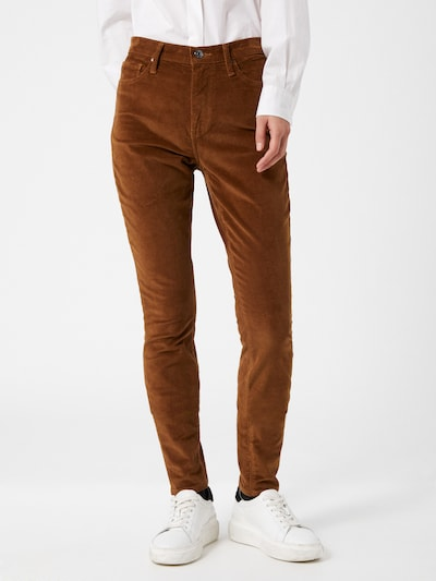 TOMMY HILFIGER Trousers in Brown / Green / Khaki, View model