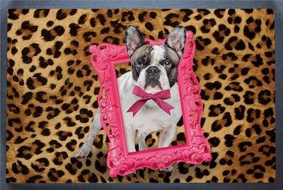 ACHOKA® Fußmatte 'Hund' in braun / mischfarben, Produktansicht