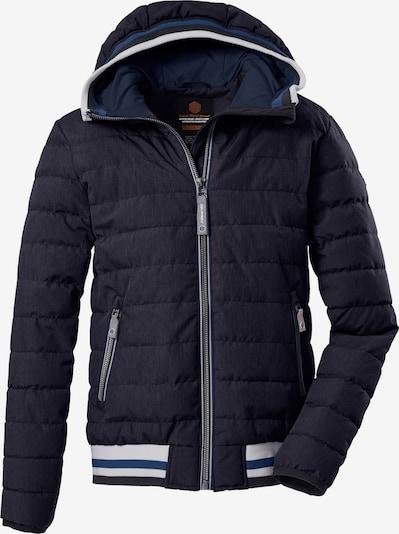 KILLTEC Outdoorová bunda 'Visby' - modrá / námornícka modrá / biela, Produkt