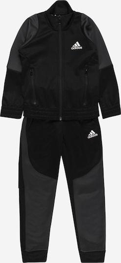 Completo sportivo ADIDAS PERFORMANCE di colore grigio / nero, Visualizzazione prodotti